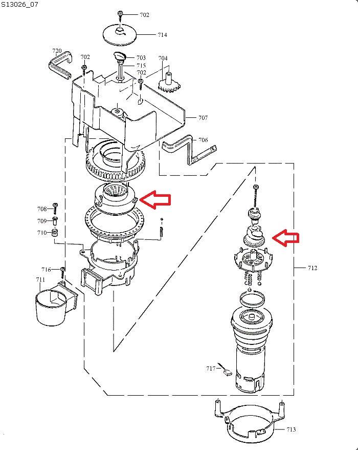 Jura Conical Grinder Burr Set Replacement For Impressa