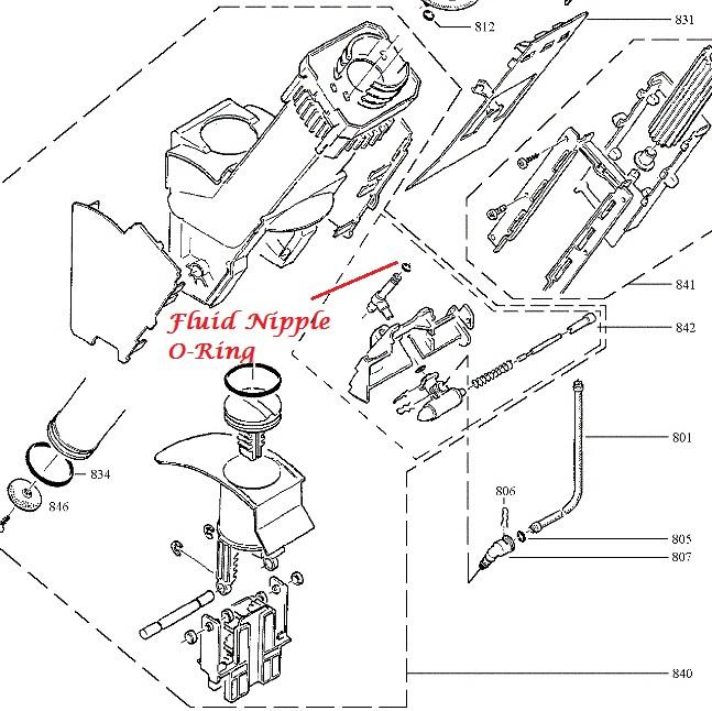 jura brew group drain valve fluid nipple o ring. Black Bedroom Furniture Sets. Home Design Ideas