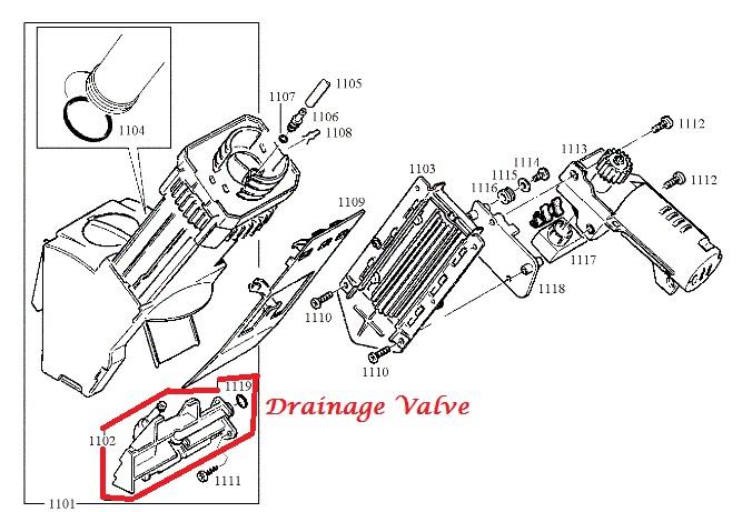 jura f j z ena giga brew group drain valve. Black Bedroom Furniture Sets. Home Design Ideas