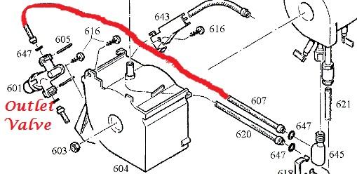 jura capresso impressa 170mm thermoblock to outlet valve hose. Black Bedroom Furniture Sets. Home Design Ideas